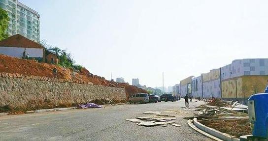 万达广场即将开业 红湘南路与万达路预计月底通车