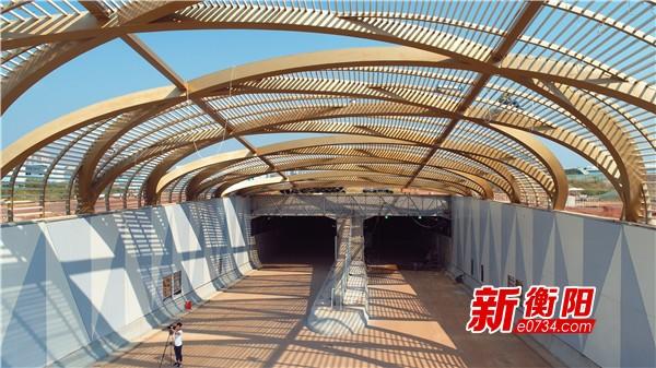 """衡阳首条过江隧道""""扫尾"""" 预计9月初达到通车条件"""