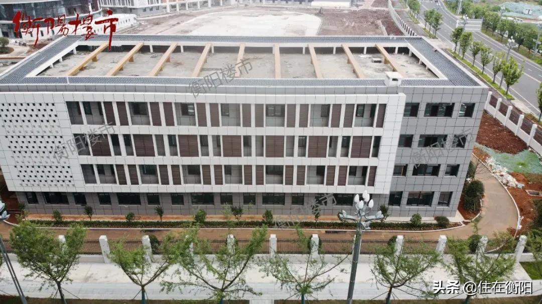 实探丨9月就开学!衡阳高新成章现在究竟建的怎么样了?