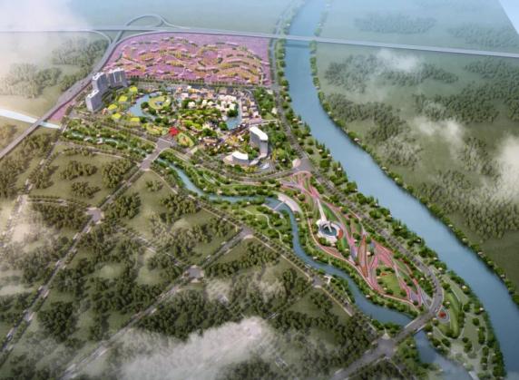 投资6000万元,700余亩文创园第三座桥梁开始建设...
